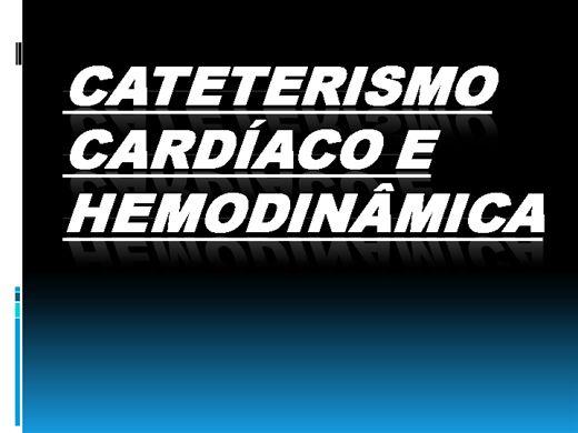 Curso Online de Cateterismo Cardíaco e Hemodinâmica
