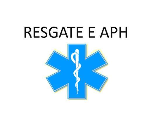 Curso Online de RESGATE E APH