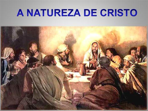 Curso Online de Cristologia: A Natureza de Cristo