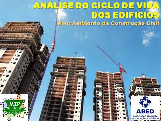 Curso Online de Analise do Ciclo de Vida e Meio Ambiente da Construção Civil