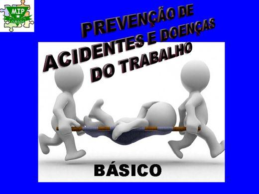 Curso Online de Prevenção de Acidentes e Doenças no Trabalho