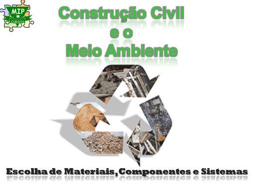 Curso Online de Construção Civil e o Meio Ambiente