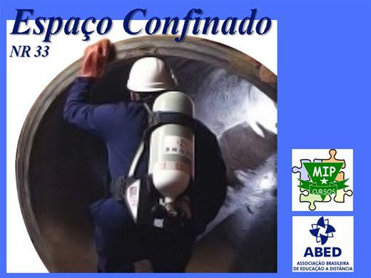 Curso Online de Espaço Confinado - NR 33