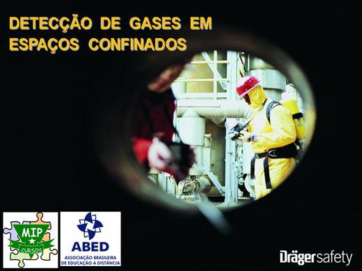 Curso Online de Detecção de Gases em Espaços Confinados