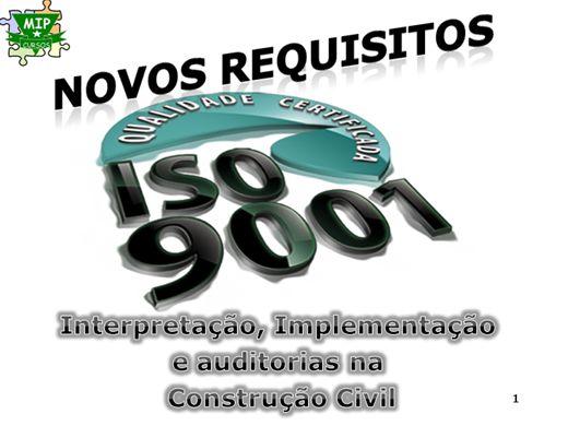 Curso Online de ISO 9001 Na Construção Civil