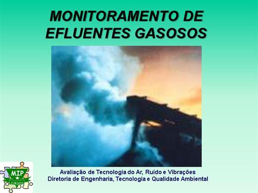 Curso Online de Monitoramento de Efluentes Gasosos