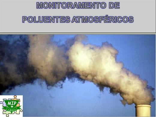 Curso Online de Monitoramento de Poluentes Atmosfericos