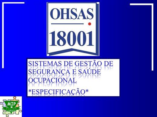 Curso Online de OHSAS 18001