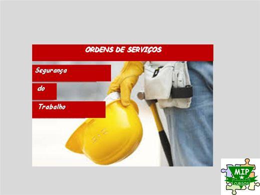 Curso Online de Ordem de Serviço & Segurança do Trabalho