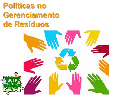 Curso Online de Politicas no Gerenciamento de Resíduos