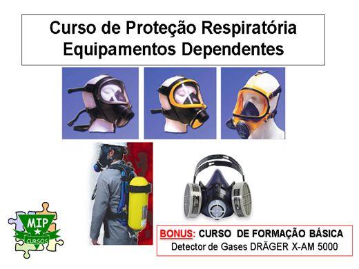 Curso Online de Proteção Respiratória e Detectores de Gases
