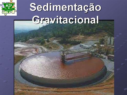 Curso Online de Sedimentação Gravitacional