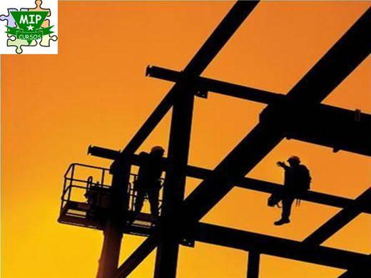 Curso Online de Segurança nos Trabalhos em Altura, Telhados e Escadas