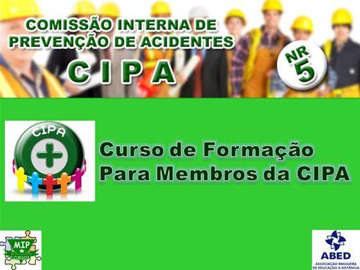 Curso Online de Curso de formação para Membros da CIPA