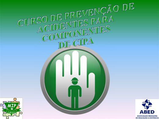 Curso Online de Curso de Prevenção de Acidentes para Membros da CIPA