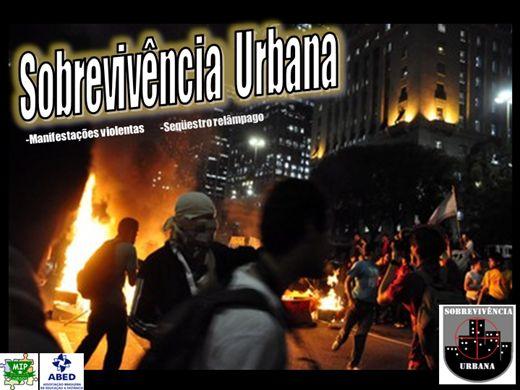 Curso Online de Sobrevivendo a Violência Urbana e Manifestações