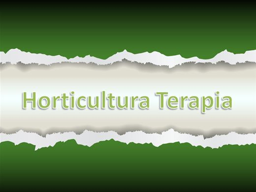 Curso Online de Horticultura Terapia