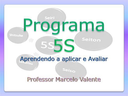 Curso Online de Programa 5S - O caminho para a Excelência da Qualidade
