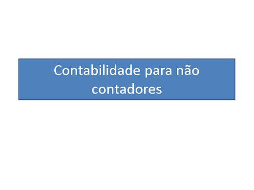 Curso Online de CONTABILIDADE PARA NÃO CONTADORES