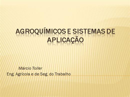 Curso Online de Agroquímicos e Sistemas de Aplicação