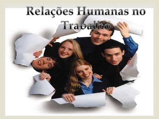 Curso Online de Relações Humanas no Trabalho