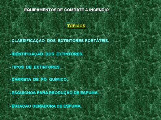 Curso Online de EXTINTORES