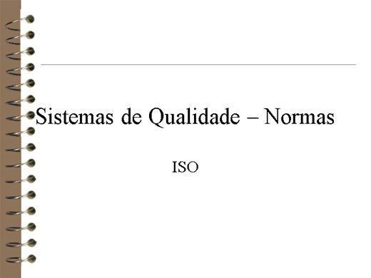 Curso Online de ISO NORMAS 9000