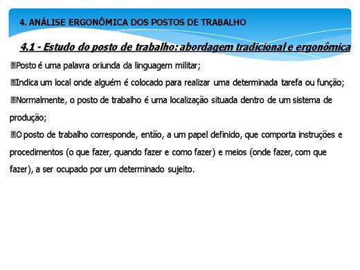 Curso Online de ANALISE ERGONÔMICA NO TRABALHO