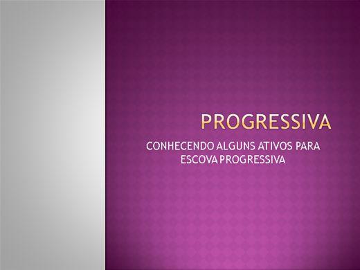 Curso Online de Conhecendo alguns ativos para Escova Progressiva