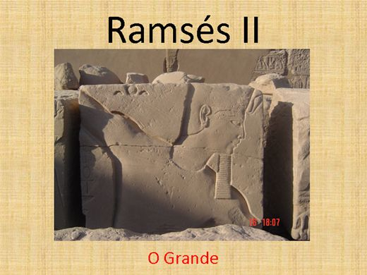 Curso Online de Ramsés II - O Grande