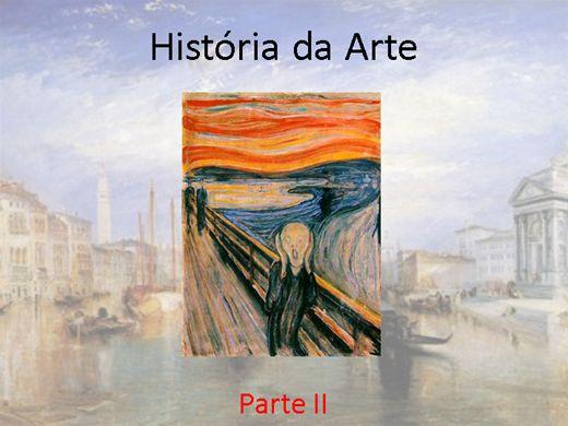 Curso Online de História da Arte - Parte II