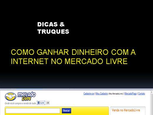 Curso Online de COMO GANHAR DINHEIRO NO MERCADO LIVRE