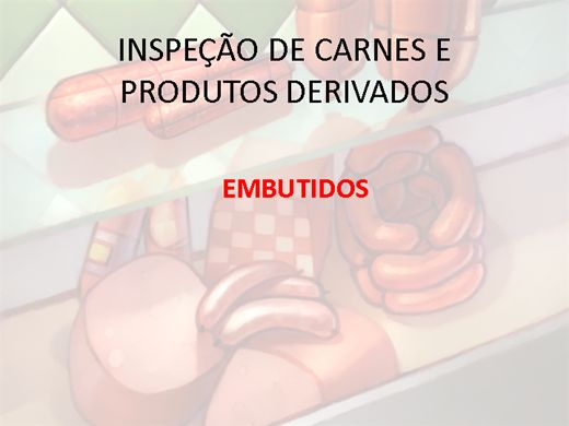 Curso Online de INSP. DE EMBUTIDOS