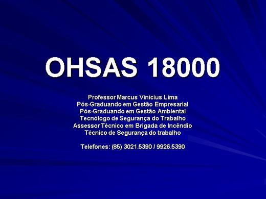 Curso Online de Curso Auditor Interno de SST / OHSAS