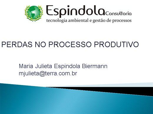 Curso Online de GESTÃO DAS PERDAS NO PROCESSO PRODUTIVO