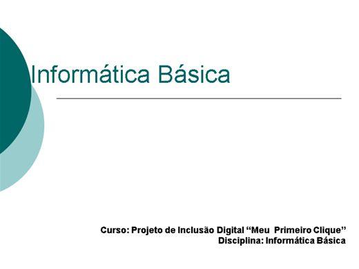 Curso Online de Imformatíca