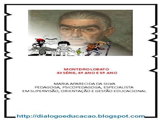 Curso Online de Monteiro lobato para o 4º,5º e 4ª Série