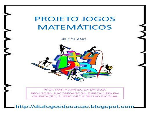 Curso Online de PROJETOS JOGOS MATEMÁTICOS 4º ANO