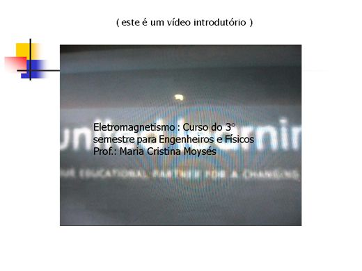 Curso Online de Eletromagnetismo