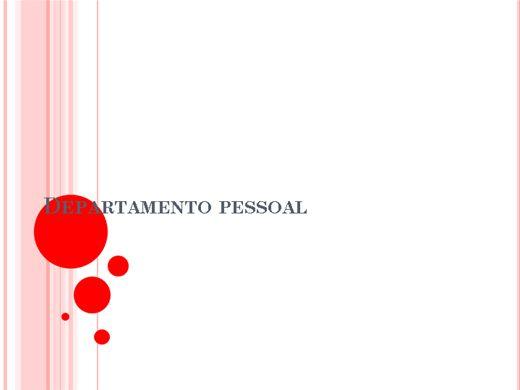Curso Online de Curso de departamento pessoal