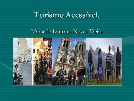 Curso Online de Turismo Acessível para deficientes
