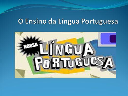 Curso Online de O  ENSINO DA LÍNGUA PORTUGUESA