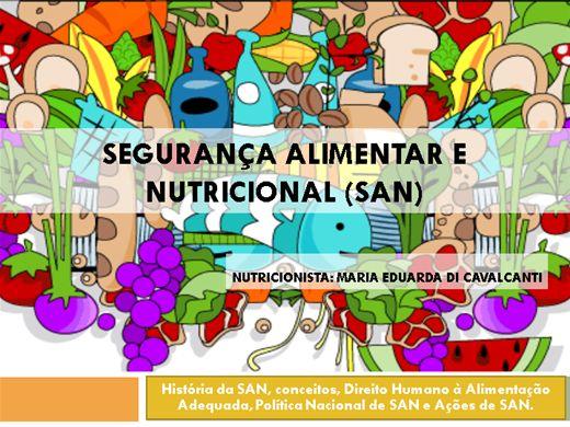 Curso Online de Segurança Alimentar e Nutricional (SAN)