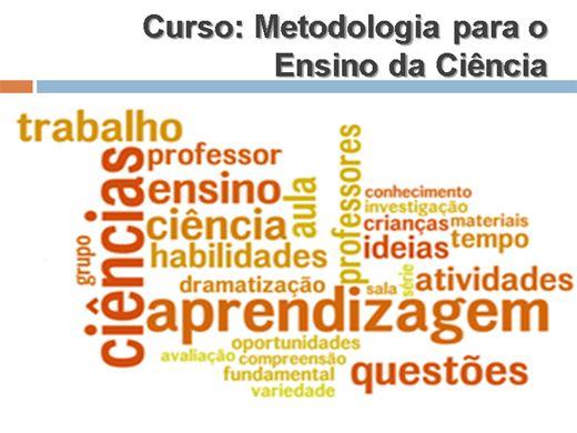 Curso Online de Metodologia do Ensino de Ciência