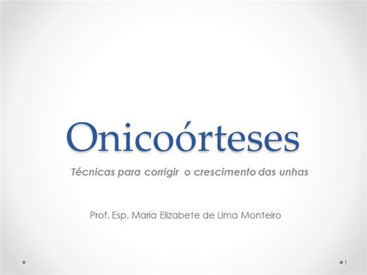 Curso Online de ONICOÓRTESE