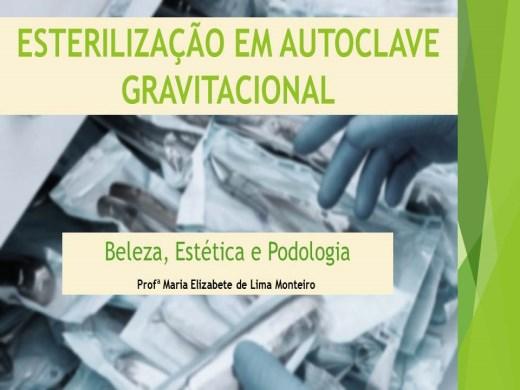 Curso Online de ESTERILIZAÇÃO EM AUTOCLAVE GRAVITACIONAL