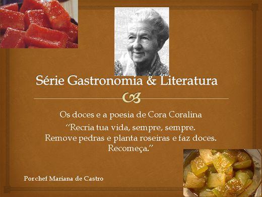 Curso Online de A arte doceira de Cora Coralina