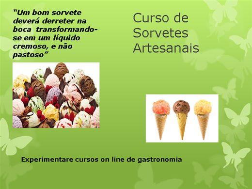Curso Online de Sorvetes artesanais - Faça e venda