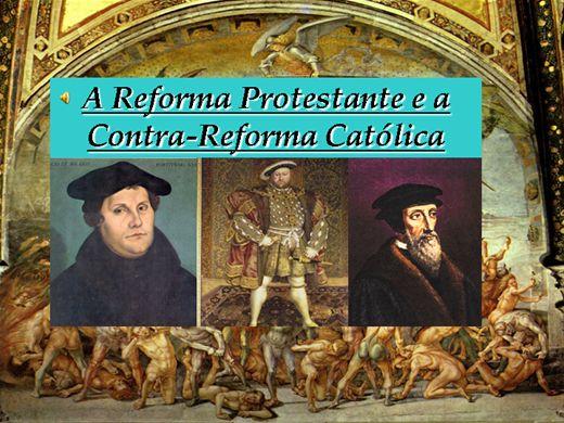 Curso Online de A Reforma Protestante e a Contra-Reforma Católica