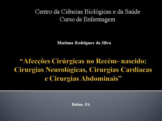 """Curso Online de """"Afecções Cirúrgicas no Recém- nascido: Cirurgias Neurológicas, Cirurgias Cardíacas e Cirurgias Abdominais"""""""